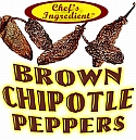 Chef's Ingredient - Brown Chipotle Peppers - .75 oz.
