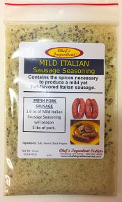 Sausage, Mild Italian, Italian Sausage-soupbase