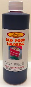 Red Food Coloring - 8 Oz.
