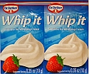 Dr Oetker Whip It - Whip Cream Stabilizer - 2 Pack - Past